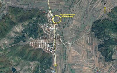 Industriska zona demir hisar
